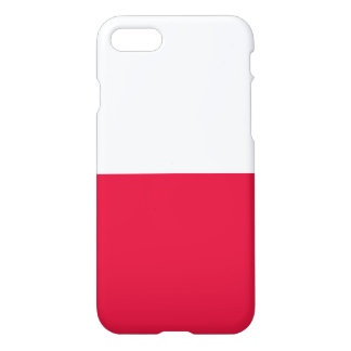 Poland Flag iPhone 7 Case