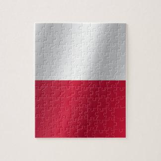 Poland flag jigsaw puzzle