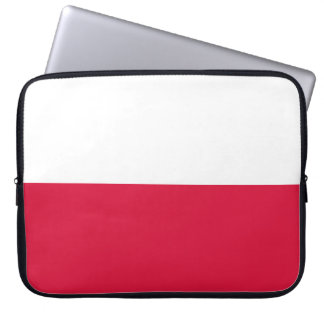 Poland Flag Laptop Sleeve