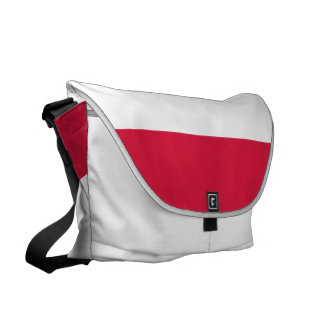 Poland Flag Messenger Bag