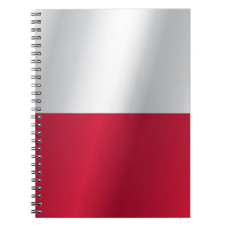 Poland flag notebooks