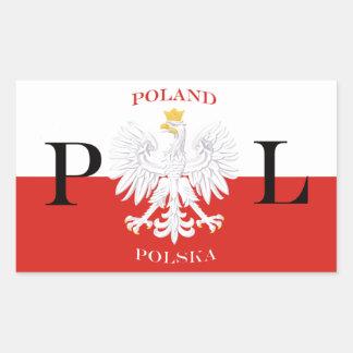 Poland Flag of Polska White Eagle Sticker