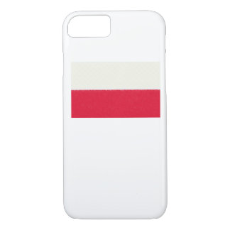 Poland Flag Oil Painting iPhone 7 Case