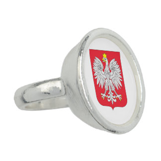 Poland Flag Photo Rings