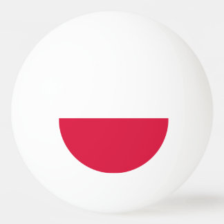 Poland Flag Ping Pong Ball