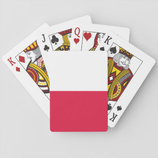 Poland Flag Playing Cards