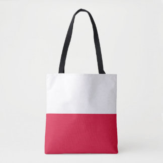 Poland Flag Tote Bag