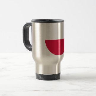 Poland Flag Travel Mug