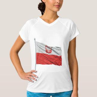 Poland Flag Womens Active Tee
