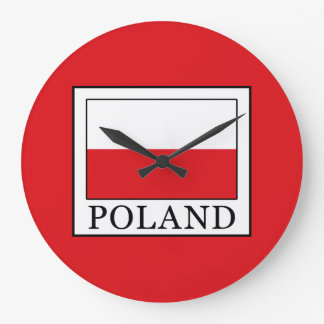 Poland Large Clock