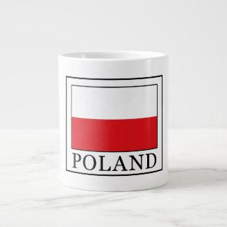 Poland Large Coffee Mug