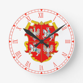 Poland-Lithuania Commonwealth (Rise of Roses) Round Clock