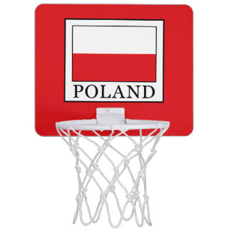 Poland Mini Basketball Hoop
