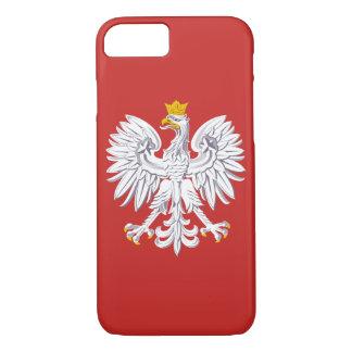 Poland Patriotic Crest with Eagle iPhone 8/7 Case