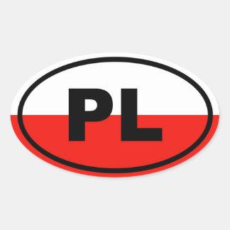 Poland PL European Sticker