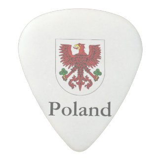 Poland, Polish coat of arms Acetal Guitar Pick