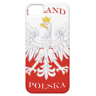 Poland Polish Flag iPhone 5 Case-Mate ID™