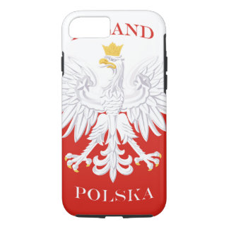 Poland Polish Flag iPhone 7 Case