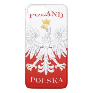 Poland Polish Flag iPhone 8 Plus/7 Plus Case