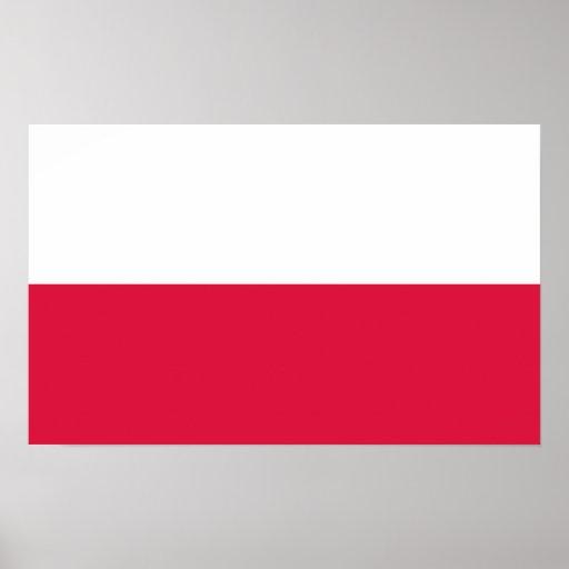 Poland - Polish Flag Poster