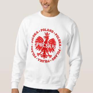 Poland Polska Crowned Eagle Symbol Sweatshirt