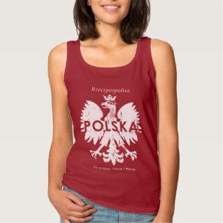 Poland Rzeczpospolita Polska Polish Eagle Symbol Tank Top