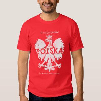 Poland Rzeczpospolita Polska Polish Eagle Symbol Tshirts