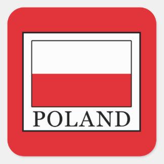 Poland Square Sticker
