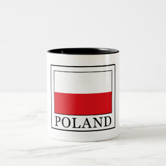 Poland Two-Tone Coffee Mug