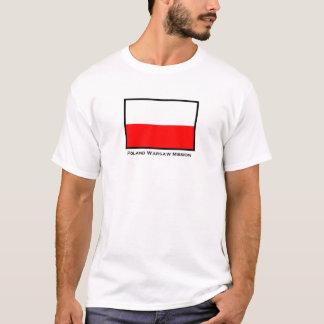Poland Warsaw LDS Mission T-Shirt