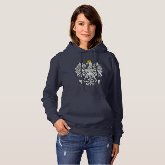 Poland White Eagle Collection Hootie Hoodie