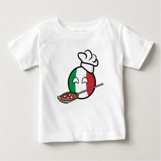 Polandball - Italyball making pizza Baby T-Shirt