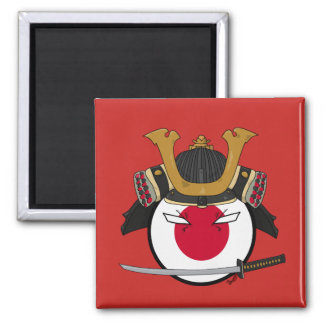 Polandball - Japan Samurai Magnet