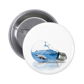 Polar 2 Inch Round Button