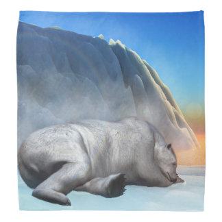 Polar bear - 3D render Kerchiefs