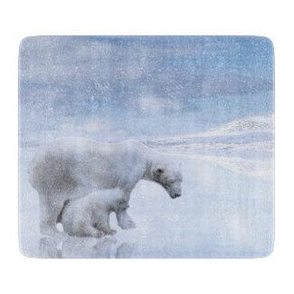 Polar bear and cub boards