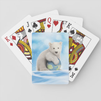 Polar Bear Arctic World Playing Cards