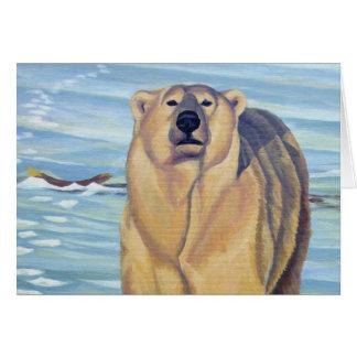 Polar Bear Art Cards Custom Wildlife Art Cards
