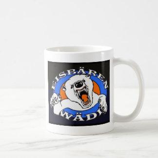 Polar bear article basic white mug