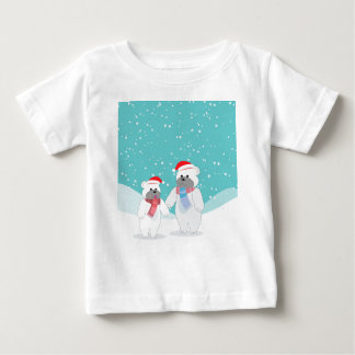polar bear B Baby T-Shirt