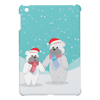 polar bear B Cover For The iPad Mini