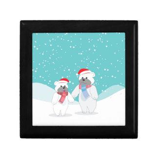 polar bear B Gift Box
