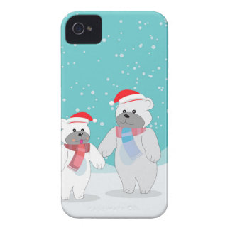 polar bear B iPhone 4 Case-Mate Cases