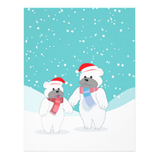 polar bear B Letterhead