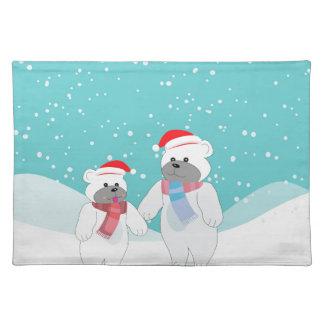 polar bear B Placemat
