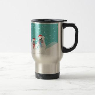 polar bear B Travel Mug
