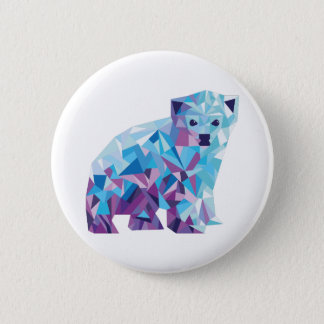 Polar Bear Badge 2 Inch Round Button