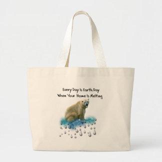 Polar Bear Tote Bags