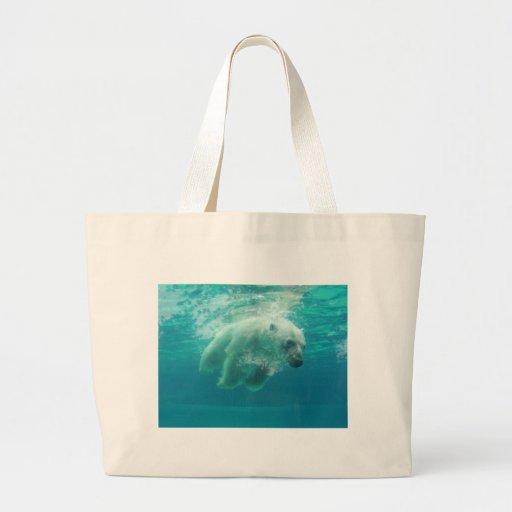 Polar Bear Canvas Bags