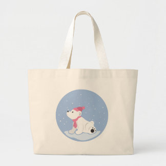 Polar Bear Canvas Bag
